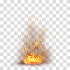 Spark Ledakan, Firefox dengan Sparks, lava splash png
