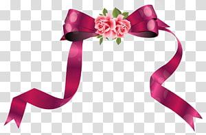 Pita perekat Kertas pita hitam, Pita Hias dengan Mawar, bunga mawar merah muda dengan busur png