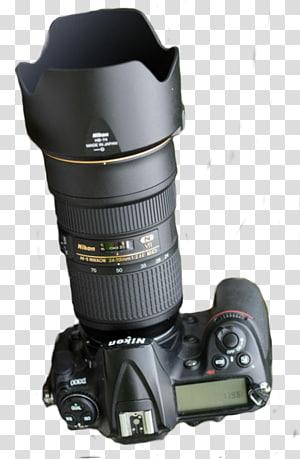 hitam kamera DSLR Nikon, lensa Kamera Digital SLR Desktop PicsArt Studio, singa batu png