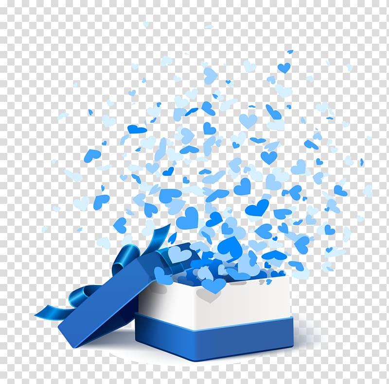 Kertas Kotak Hadiah, Kotak Hadiah Biru, tangkapan layar kotak hadiah putih dan biru png