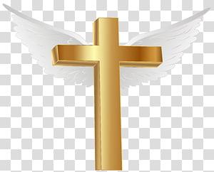 ilustrasi Brown Cross dengan sayap, File Komputer Palang Emas Pulau Lihir, Palang Emas dengan Sayap Malaikat png