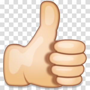 seperti ikon, stiker tangan bahasa isyarat ibu jari tanda emoji, emoji tangan PNG clipart