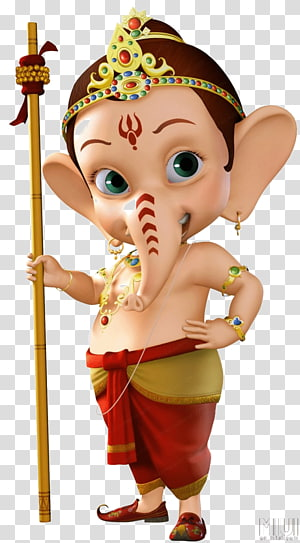 Dewa Ganesha, Ganesha Ganesh Chaturthi Hanuman Hinduisme Bal Ganesh, Ganesha png