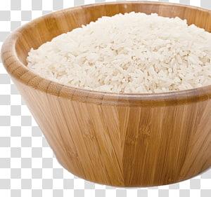 mangkuk coklat, nasi pratanak Basmati Sona Masuri Sereal, Beras png