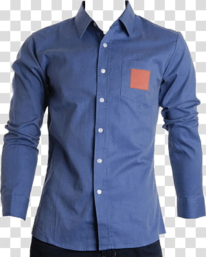 Kemeja kancing abu-abu pria, T-shirt Dress shirt, Dress Shirt png