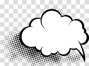 ilustrasi awan putih, buku Komik Komik Pidato balon Cloud, Kartun tangan-digambar s png