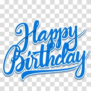 ilustrasi selamat ulang tahun biru, Undangan ulang tahun kue Pernikahan, WordArt Biru Selamat Ulang Tahun png