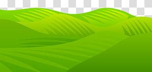 gunung hijau, Sudut Produk Daun Hijau, Rumput Padang Rumput PNG clipart