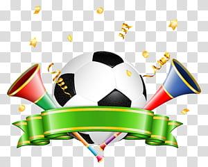Football Decoration, ilustrasi bola putih dan hitam PNG clipart