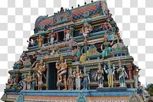 candi kayu beraneka warna, Kuil Seribu Pilar Hindu, Hindu, Hindu png