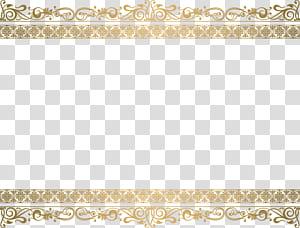 Bingkai renda emas, tangkapan layar bingkai bunga coklat png