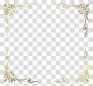 bingkai, Bingkai Perbatasan Dekoratif, ilustrasi template bingkai cokelat PNG clipart