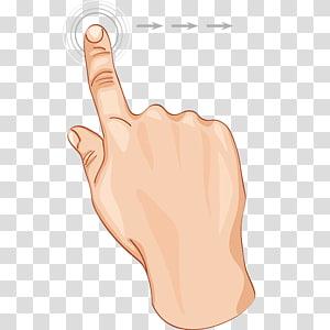 ilustrasi tombol menekan tangan, Thumb Finger Digit Euclidean, Creative finger PNG clipart