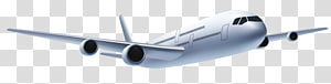 Ilustrasi pesawat terbang, Pesawat, putih PNG clipart