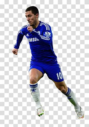 pria berbaju biru lengan panjang, eden hazard chelsea f.c. pemain sepak bola pemain olahraga, chelsea png