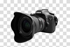 hitam Canon EOS 7D, Canon EOS 7D Canon EOS 5D Mark III Kamera Digital SLR, lensa kamera peta fisik png