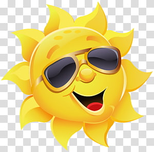Ilustrasi kacamata hitam penerbang, Matahari dengan Kacamata Hitam, kacamata hitam yang mengenakan matahari PNG clipart