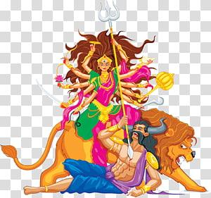 ilustrasi religius, Durga Puja Ravana Rama Dussehra Navaratri, rama png