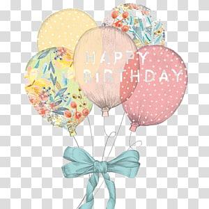 balon aneka warna selamat ulang tahun ilustrasi, kue Ulang Tahun Undangan pernikahan Selamat Ulang Tahun untuk Anda Kartu ucapan, Seni Balon png
