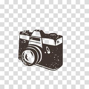 Kamera,, ilustrasi kamera hitam png