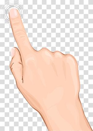 tangan seseorang, Gesture Hand Finger, Mengklik Tangan PNG clipart