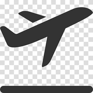 ilustrasi pesawat putih dan hitam, Ikon Pesawat Terbang Pesawat Komputer, Ikon Pesawat png