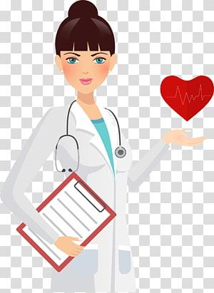 dokter wanita, Dokter Perawat Perawatan Kesehatan Obat Kesehatan profesional, dokter kepala wanita dicat bola png