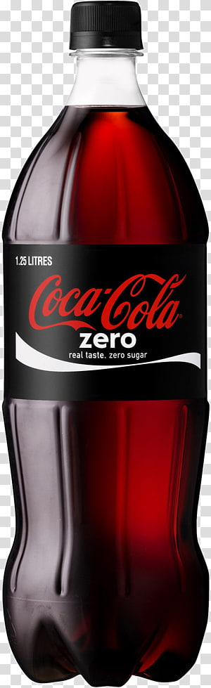 Coca-Cola Nol ilustrasi botol plastik, minuman ringan Coca-Cola Diet Coke, botol Coca Cola PNG clipart