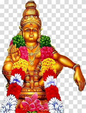 Ilustrasi dewa Hindu, Sabarimala Ganesha Ayyappan Harivarasanam Song, ayyappa png
