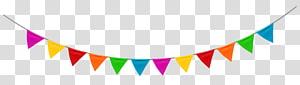 Pesta Ulang Tahun, Pesta Streamer, bunting aneka warna png