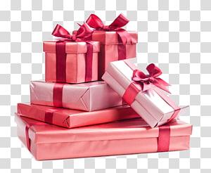 hadiah dengan pita bertumpuk di latar belakang biru, hadiah Natal, setumpuk hadiah liburan png