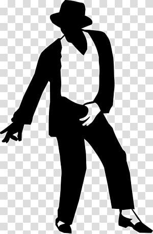 Moonwalk Silhouette Sticker Decal, bahan siluet menari Michael Jackson png
