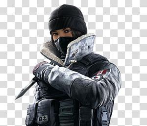 wanita mengenakan seragam militer membawa pisau, Tom Clancys Rainbow Six Siege Tom Clancys Divisi PlayStation 4 Ubisoft Penembak orang pertama, Tom Clancys Rainbow Six png
