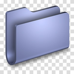 ilustrasi ikon folder abu-abu, persegi panjang, Folder Biru Umum png