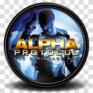 Alpha Protocol Espionage RPG, font merek, Alpha Protocol 2 png