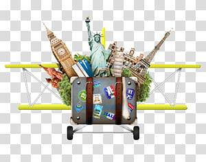 ilustrasi biplane, Wisata Terjemahan Daya Tarik Wisata Inggris, Perjalanan Kreatif png