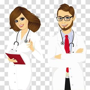 ilustrasi dua dokter, Ilustrasi Dokter Wanita, Kartun Dokter png