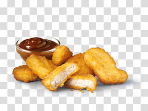 Chicken nugget McDonald \ 's Chicken McNuggets Kentang goreng Makanan cepat saji Junk food, chicken nugget png