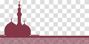 Idul Fitri Idul Fitri Idul Adha Hindi Mawlid, Gereja Islam Ungu, ilustrasi masjid PNG clipart