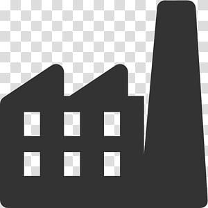ilustrasi bangunan putih, Industri Pabrik Ikon Komputer, Ikon Pabrik Gratis png