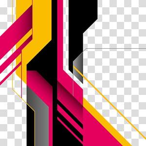 Bentuk geometris Seni abstrak, bentuk abstrak, beraneka warna PNG clipart