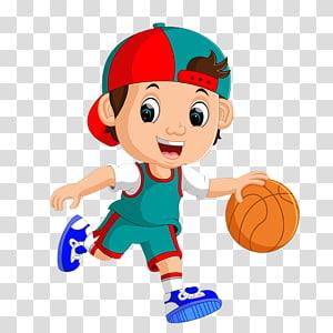 anak laki-laki bermain bola basket, pemain bola basket, Bermain bola basket anak kecil PNG clipart