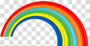 Rainbow, Rainbow, ilustrasi pelangi PNG clipart