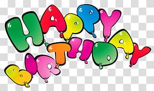 Kue ulang tahun Balon, Selamat Ulang Tahun Balon, ilustrasi Selamat Ulang Tahun png