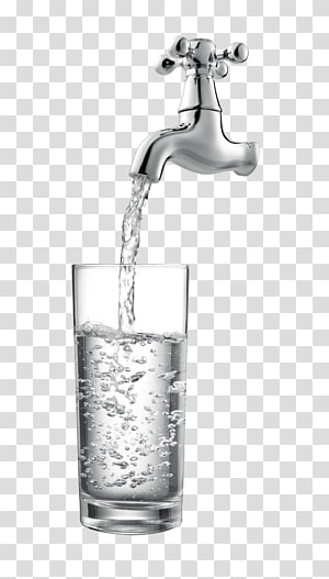 Air keran Air minum Water treatment, Faucet air, keran perak yang dihidupkan png