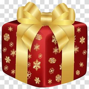 ilustrasi kotak hadiah bunga merah dan kuning, hadiah Natal hadiah Natal komputer grafis 3D, Hadiah Merah Natal png