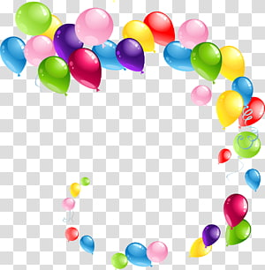 Balon, Balon 6, berbagai macam balon warna png