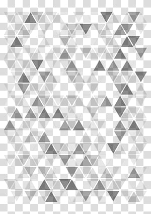 , Bentuk latar belakang segitiga, warna hitam dan putih abstrak png