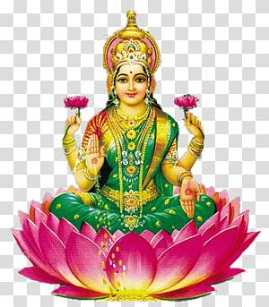 Dewa Hindu, Ganesha Lakshmi Devi Wisnu Sri, dewa India png