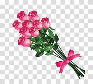 Blessing Afternoon Night Salam Dewa, Buket Mawar Merah Muda, buket mawar merah muda png
